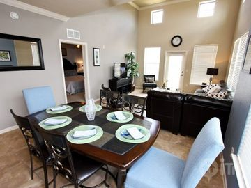 Open Kitchen, and Dining Areas