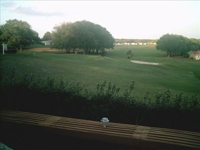 View of 17th Tee from Deck