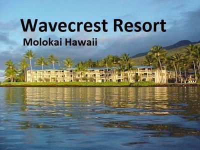 Wavecrest Resort from Ocean