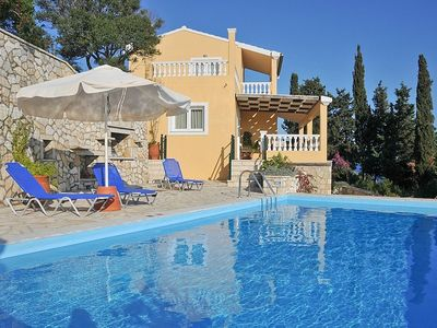 Paxi (Paxos) villa rental - Villa Kalypso with private pool