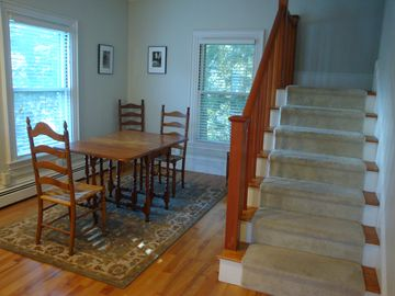 Camden apartment rental - Dining and stairs to upper floor
