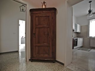 Bologna apartment photo - A 1800s angoliera cabinet. The house was furnished with love and zest.