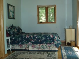 Fifty Lakes cabin photo - Bedroom with Queen Bed