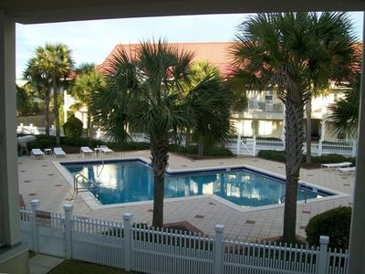 Seagrove Beach condo rental - Unique designed pool, heated for spring break 2012