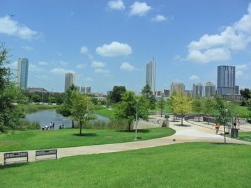 Austin townhome rental - This is the Park next to the Palmer event center a glorious walk away