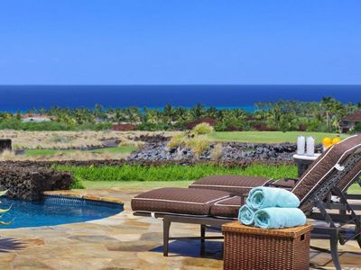 Poolside with Panoramic Tropical Views!