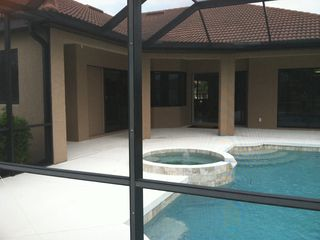 North Port house photo - Enclosed pool/spa