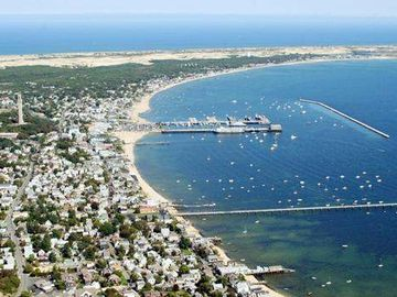 Arial View of Provincetown