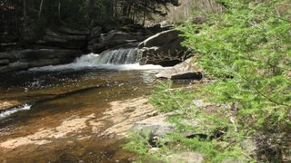 "Franconia house photo - ""Slippery Rock"" swimming hole, a short walk away from property."
