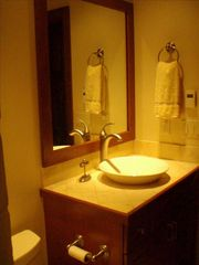 Teton Village condo photo - Top Floor Master Suite Bathroom With Large Walk-in Shower