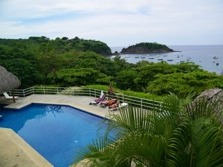 Playa Ocotal condo photo - Big Pool with Shallow Covered End for Children