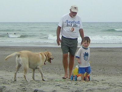 The Beach is a Great Place for Kids and Dogs