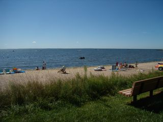 Westbrook cottage photo - Summertime - Main Beach Area