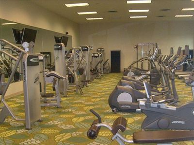 State of the art fitness center.