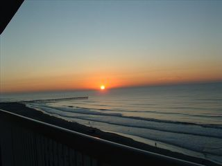 Cherry Grove Beach condo photo - Breath Taking - sunrise in eastnortheast