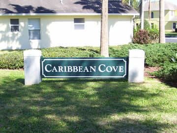 Welcome to our neighborhood Caribbean Cove.