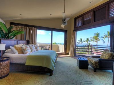 Master Bedroom and lanai's