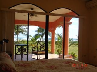 Playa Las Lajas house photo - View from main bedroom
