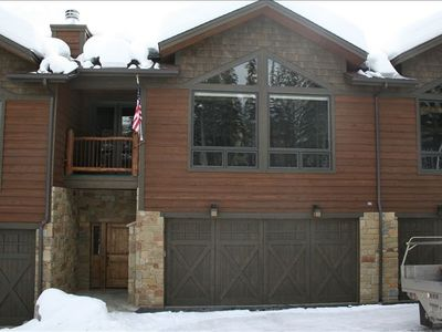 Exterior Front with off street parking & views of wooded areas