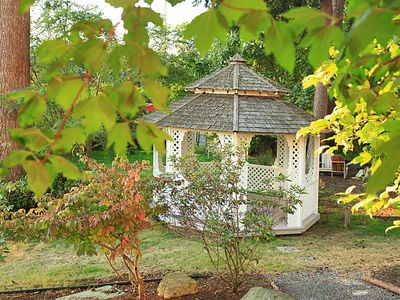 A gazebo for a private serenade