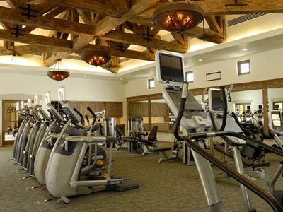 Fitness Center with complimentary fitness classes