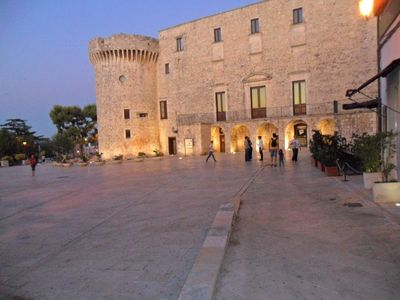 Charming stone house in the medieval village of Conversano 10 km from beaches