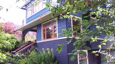 Our 3-story 100 year old home in wonderful leafy neighbourhood