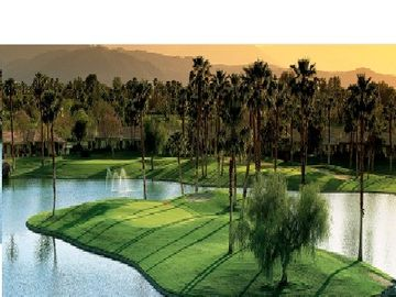 1 OF OUR SIGNATURE HOLES HERE @ PGA WEST...