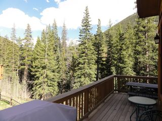 Keystone condo photo - View from Deck - Snake River runs behind you!