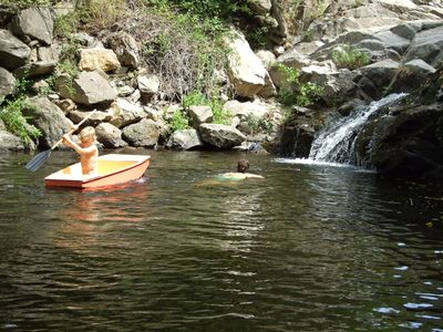 Sorede villa rental - The natural swimming pool