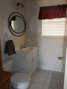 Downstairs Bath -- newly updated!