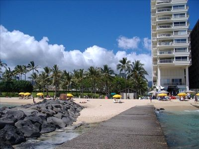 Waikiki Beach--Your Back Yard...