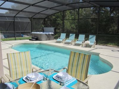 Emerald Island villa rental - Super-pool - Extended deck - Spa
