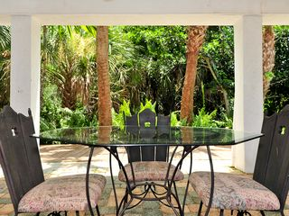 Sanibel Island house photo - Lower Level Lanai with Barbeque grill
