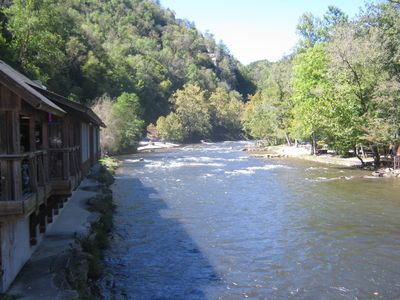 The Nantahala River...Whitewater rafting, kayaking, or stopping for lunch...