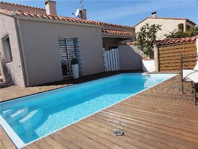 Popular holiday home for 8 persons, with swimming pool, in Perpignan