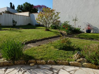 Sunny house with garden, quiet downtown La Rochelle