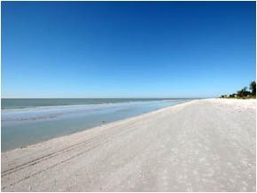 Beautiful beaches on Sanibel