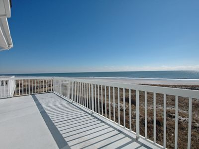 Brigantine condo rental - View From The Oceanfront Deck