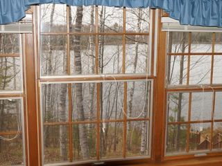 Minocqua cabin photo - View from the master bedroom