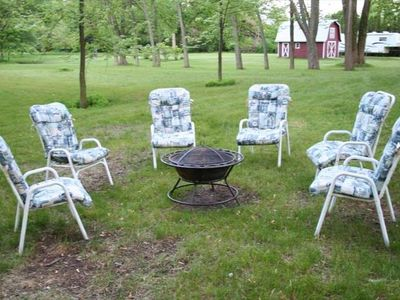South Haven cottage rental - Backyard