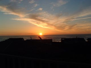 Waldport house photo - Beautiful sunsets, of course