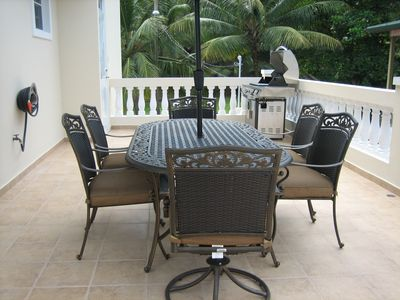 Rincon villa rental - 5 Burner Grill With Smoker