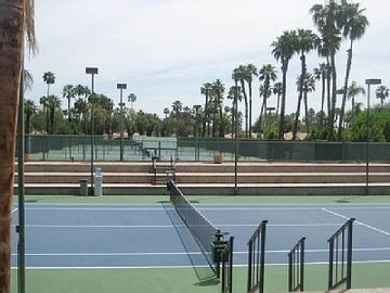 19 courts within Tennis Complex