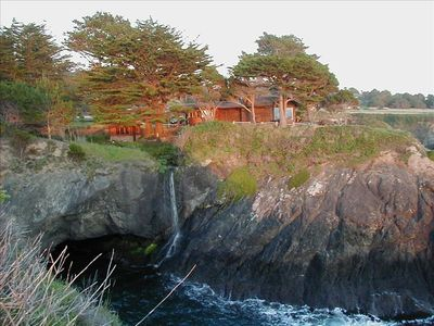 View Of Abalone Arch Residence From The North Cove