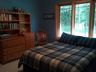 Guest Room - Both Guest Rooms have view of rear wooded areas. - Pentwater house vacation rental photo