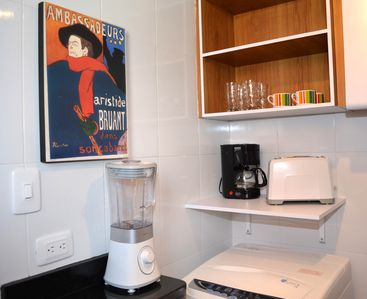 Bogota apartment rental - Fully equipped kitchen