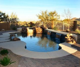 Oro Valley house rental - Pool-Spa-Waterfalls