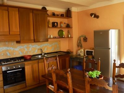 Citta di Castello villa rental - kitchen