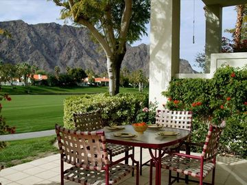 Patio Overlooking The Famous PGA West Palmer Private CC...